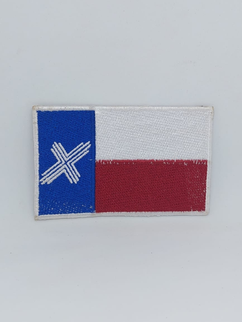 texas iron on patch